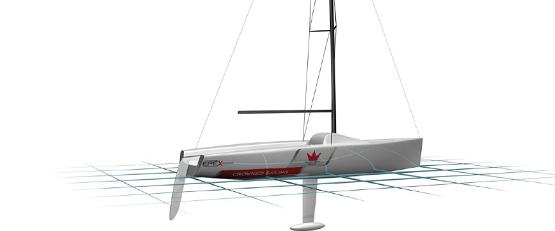 Modello 3D Piano Imbarcazione E Piano Vele Elcstrom